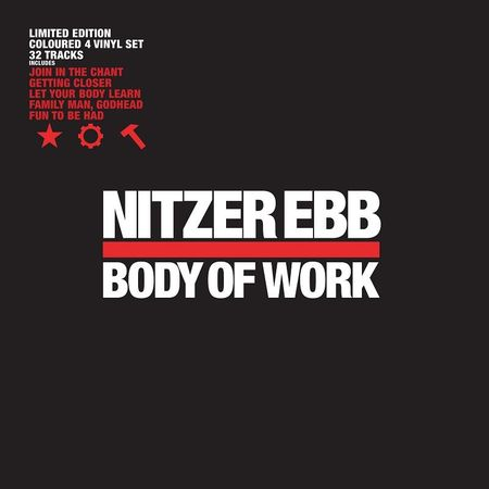Nitzer Ebb: Body Of Work: Limited Edition Red & White Vinyl