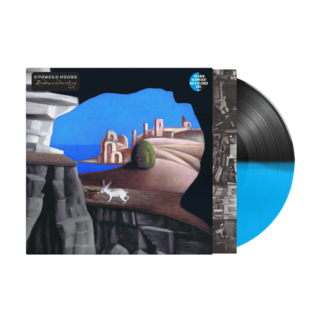 Crowded House: Dreamers Are Waiting: Exclusive Cyan Blue/Black Half + Half Vinyl