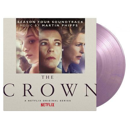 Original Soundtrack: The Crown Season 4: Limited Edition Royal Purple Marbled Vinyl
