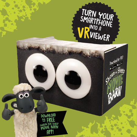 Shaun the Sheep: Shaun The Sheep Virtual Reality Viewer
