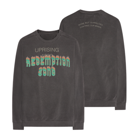 Bob Marley: Redemption Song Long Sleeve Crew