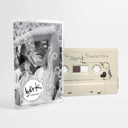 Björk: Vespertine: Limited Edition White Cassette