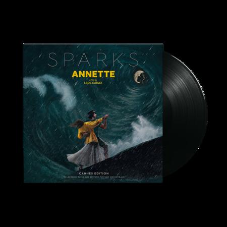 Sparks: Annette: Black Vinyl LP