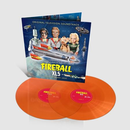Barry Gray: Fireball XL5 Original TV Soundtrack: Limited Edition Transparent Orange Vinyl