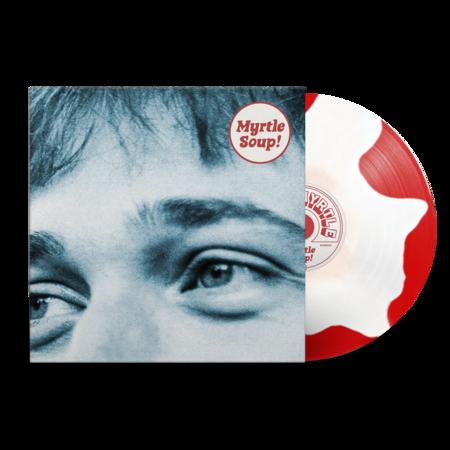 John Myrtle: Myrtle Soup: Signed Recordstore Exclusive Red + White Splodge Vinyl LP + A5 Lyric Booklet