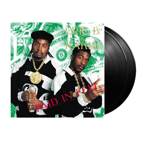 Eric B. & Rakim: Paid In Full (2LP)