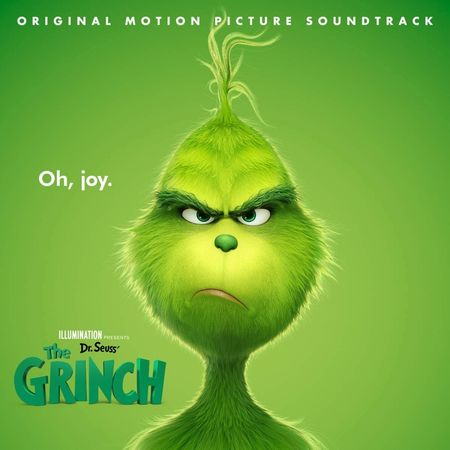 Various Artists: Dr. Seuss' The Grinch: Original Motion Picture Soundtrack: Clear with Red & White