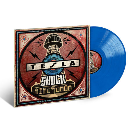 Tesla: Shock (LP 180g Translucent Blue)