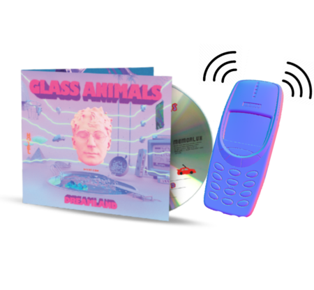 Glass Animals: YOUR LOVE FLUTE RINGTONE + CD