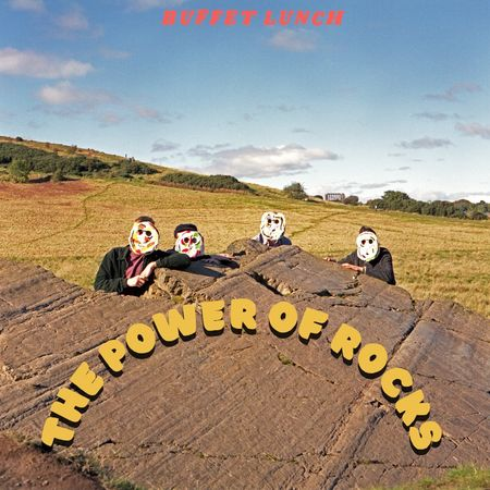 Buffet Lunch: The Power Of Rocks: 180gm Opaque Orange Vinyl