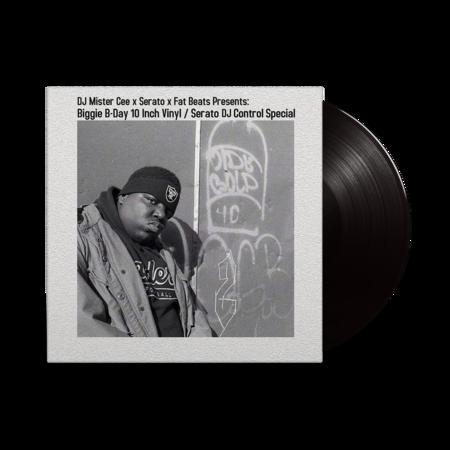 The Notorious B.I.G: Biggie B-Day 10 Inch Vinyl / Serato DJ Control