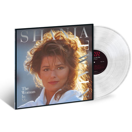 Shania Twain: The Woman In Me (Crystal Clear) (LP)