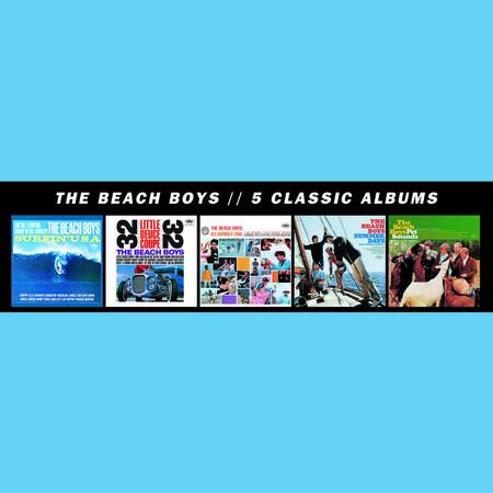 The Beach Boys: 5 Classic Albums (5CD)