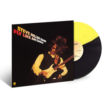 Steve Miller Band: Fly Like An Eagle: Exclusive Yellow & Black Vinyl