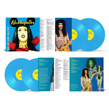 Dead Or Alive: Nukleopatra - 25th Anniversary Edition: Heavyweight Blue Vinyl
