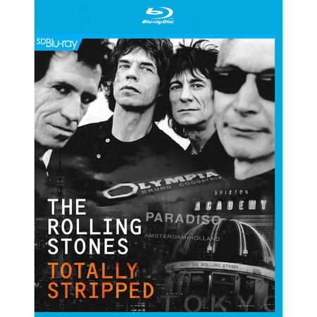 The Rolling Stones: Totally Stripped (Blu-Ray/CD)