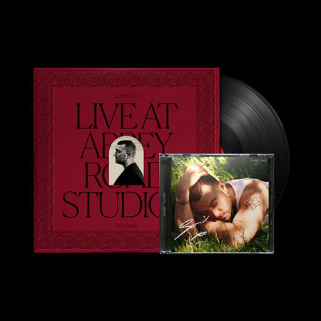 Sam Smith: Love Goes: Live At Abbey Road Studios Vinyl + Love Goes Signed CD