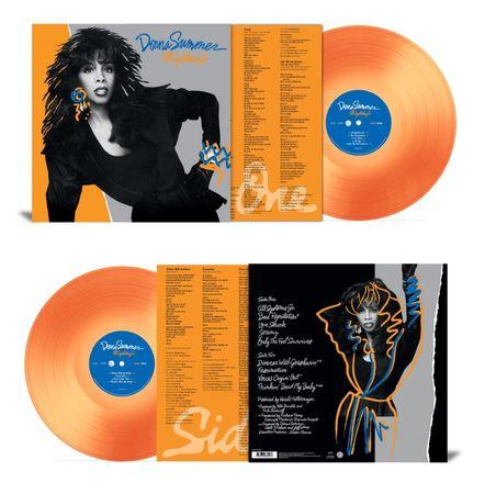 Donna Summer: All Systems Go: Limited Edition 180gm Translucent Orange Vinyl LP