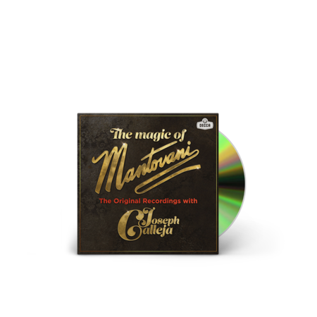 Joseph Calleja: The Magic Of Mantovani: Signed CD