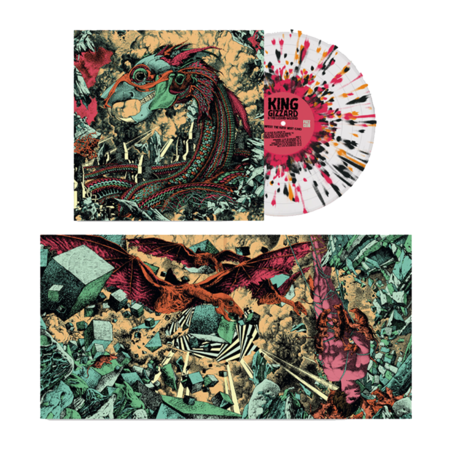 King Gizzard & The Lizard Wizard: Infest The Rats' Nest [Live]: Deluxe 180gm Ultra-Clear, Pink, Black + Orange Splatter Vinyl LP [hand-numbered /666]