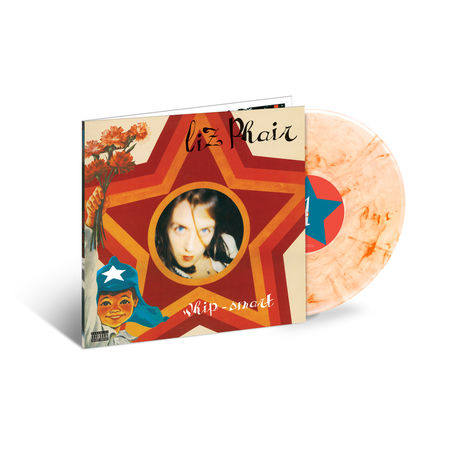 Liz Phair: Whip-Smart: Exclusive Clear w/ Orange Smoke Vinyl