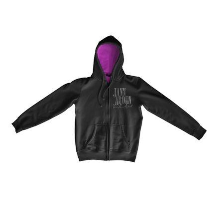 Jann Arden: Jann Arden - Everything Almost Black Hoodie - Medium