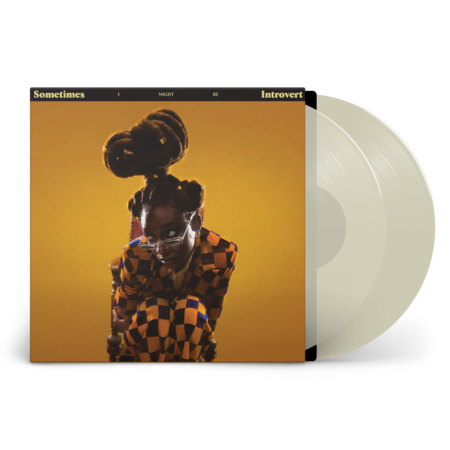 Little Simz: Sometimes I Might Be Introvert: Limited Edition Milky Vinyl LP + *SIGNED* Art Print