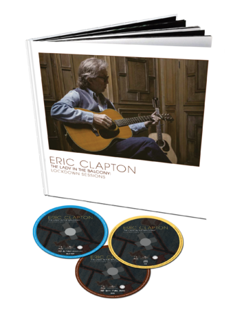 Eric Clapton: Lady In The Balcony: Lockdown Sessions: Deluxe Book DVD + Blu-Ray + CD Edition