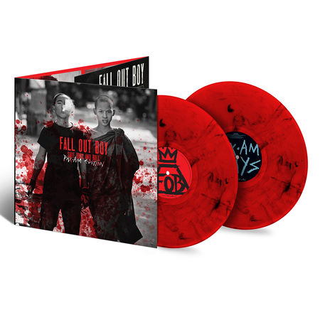 Fall Out Boy: Save Rock And Roll (PAX•AM Edition): Exclusive Split Red + Black Swirl Double Edition