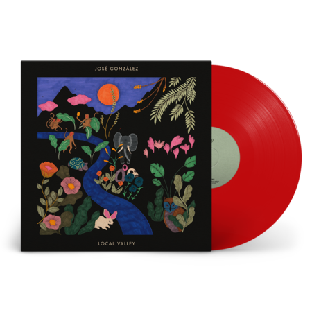 Jose Gonzalez: Local Valley: Recordstore Exclusive Translucent Red Vinyl LP + Signed Art Print