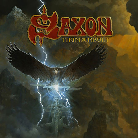 Saxon: Thunderbolt Blood Red Coloured Vinyl