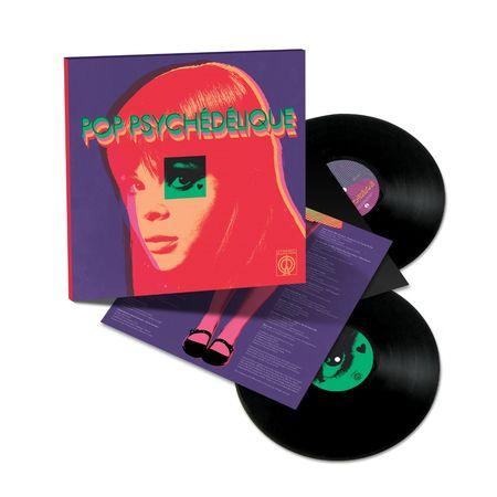 Various Artists: Pop Psychédélique (The Best of French Psychedelic Pop 1964-2019): 2LP