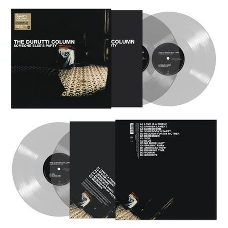 The Durutti Column: Someone Else's Party: Limited Edition Clear Vinyl