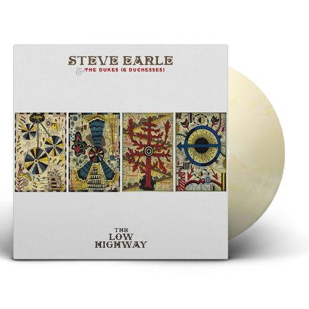 Steve Earle & The Dukes: The Low Highway: Butter Cream Vinyl