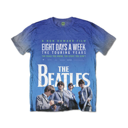 The Beatles: 8 Days A Week Movie Poster Men's Grey Sublimation T-Shirt