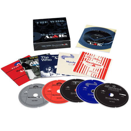 The Who: Maximum A's & B's (5 CD Boxed Set)