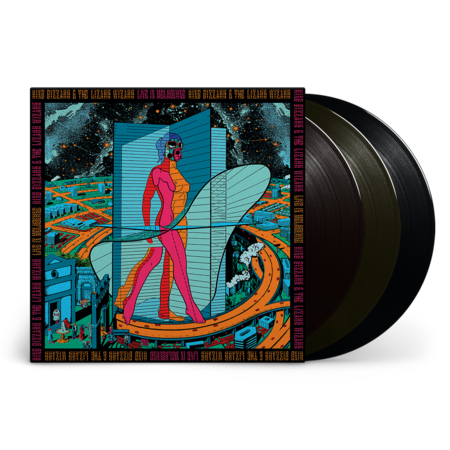 King Gizzard & The Lizard Wizard: Live In Melbourne '21 (Fuzz Club Official Bootleg): Black Vinyl 3LP