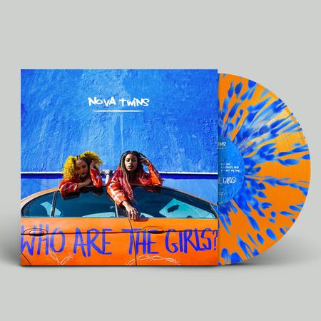 Nova Twins: Who Are The Girls?: Signed Exclusive Orange + Blue Splatter Vinyl