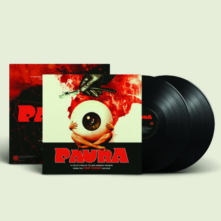 Various: Paura: Black Vinyl 2LP