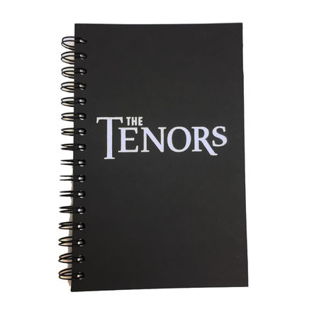 The Tenors: Journal Notebook