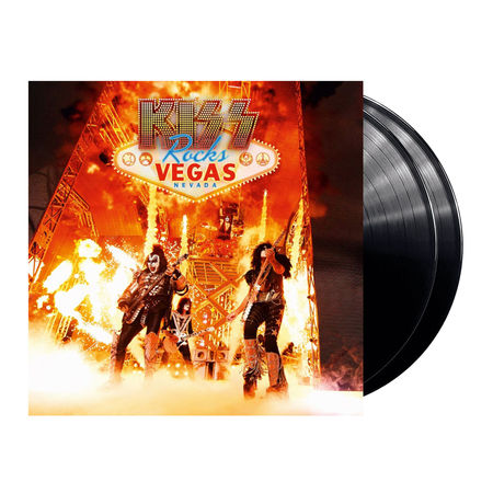 Kiss: Kiss Rocks Vegas (2LP + DVD)