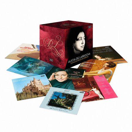 Alicia De Larrocha: Alicia De Larrocha: Complete Decca Recordings