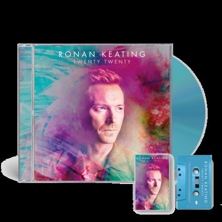 Ronan Keating: SIGNED Twenty Twenty CD and Cassette Bundle