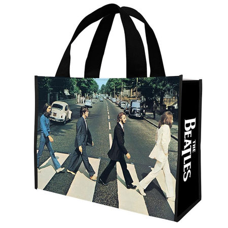 The Beatles: Abbey Road Large Recycled Shopper Tote