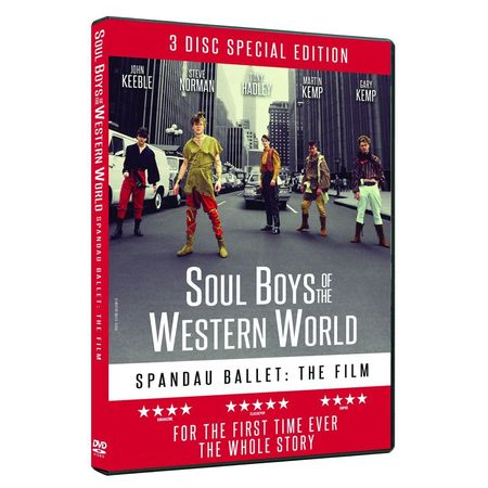 Spandau Ballet: SOUL BOYS OF THE WESTERN WORLD LIMITED EDITION 3-DISC BOXSET (DVD)