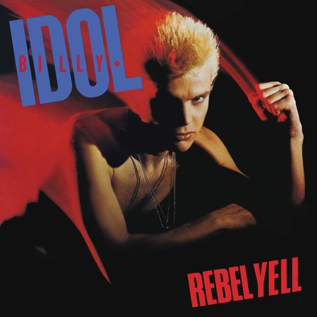 Billy Idol: Rebel Yell (LP) (Blue Vinyl)