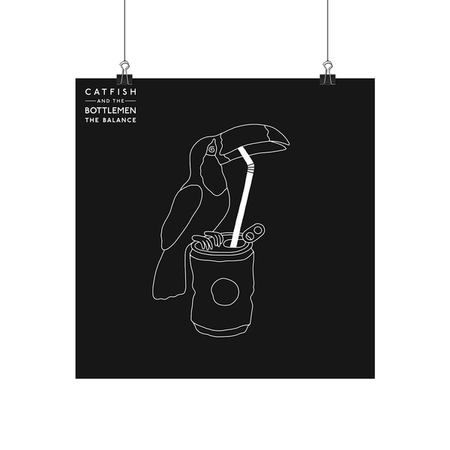 Catfish And The Bottlemen: The Balance Numbered Screenprint