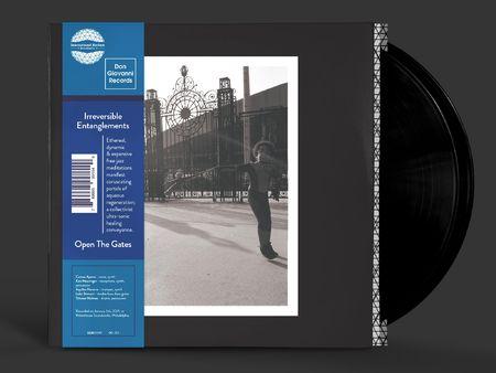 Irreversible Entanglements: Open The Gates: Black Vinyl LP