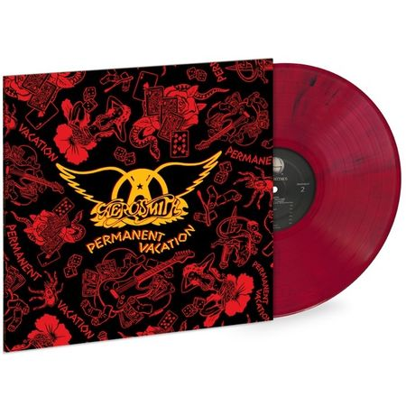 Aerosmith: Permanent Vacation (Red & Black Swirl)