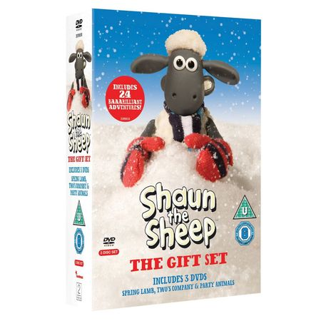 Shaun the Sheep: The Gift Set DVD